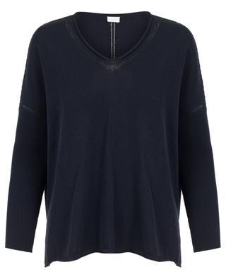 Oversized cotton and silk blend jumper ZIMMERLI