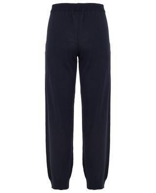 Pantalon de jogging tricot en coton et soie ZIMMERLI