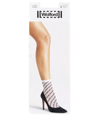 Chaussettes logo WOLFORD