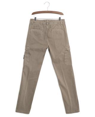 Slim-fit cotton cargo trousers STONE ISLAND