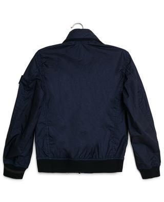 Hooded windbreaker jacket STONE ISLAND