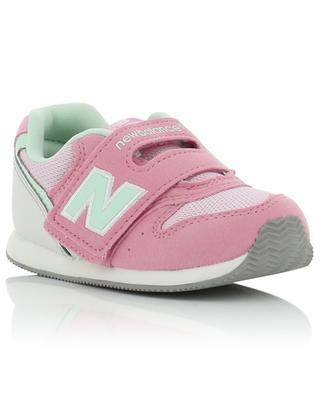 996 mesh and leather sneakers with Velcro straps NEW BALANCE