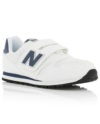 373 mesh and leather sneakers with Velcro straps NEW BALANCE