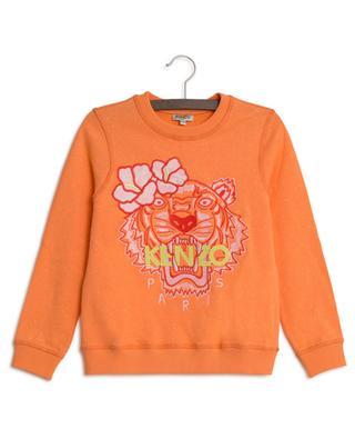 Sweat-shirt brodé Tiger Hawai KENZO