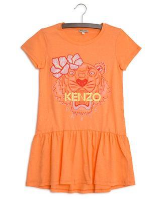 Kleid aus Jersey mit Print Hawai Tiger KENZO