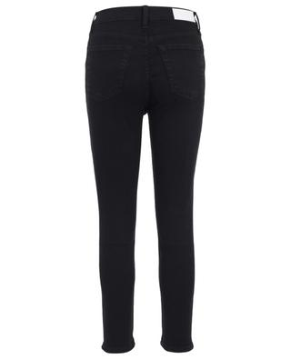 High Rise Ankle Crop straight jeans RE/DONE