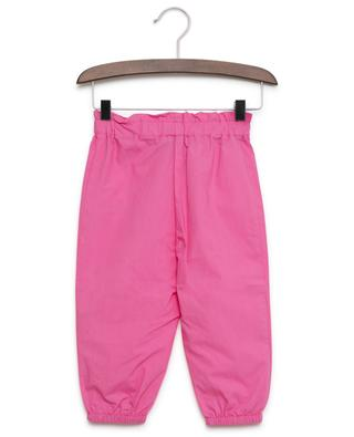Pantalon en popeline avec noeud MONNALISA
