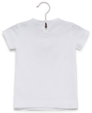 T-shirt brodé imprimé papillon MONNALISA