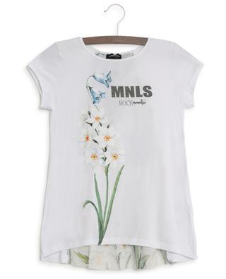 T-shirt voile dos Narcisses MONNALISA