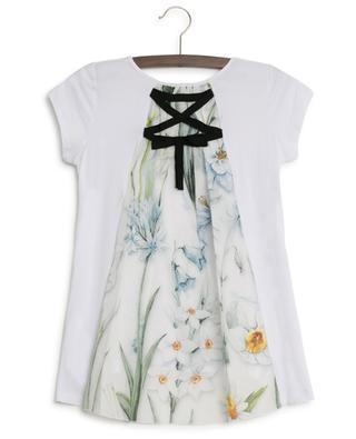 Narcissus T-shirt with back veil MONNALISA