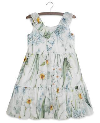 Robe sans manches imprimée de fleurs MONNALISA