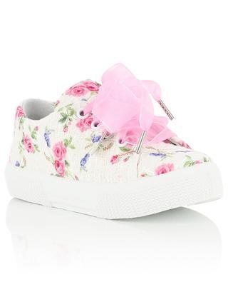 Sneakers aus Tweed Fantasia Rose MONNALISA