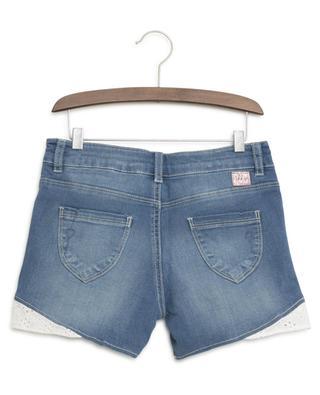 Denim shorts with lace IKKS JUNIOR