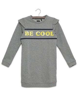 Robe sweat brodée Be Cool Cargo IKKS JUNIOR