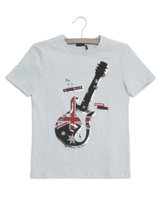 Guitar slub cotton T-shirt IKKS JUNIOR