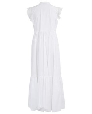 Robe longue en popeline de coton TWINSET