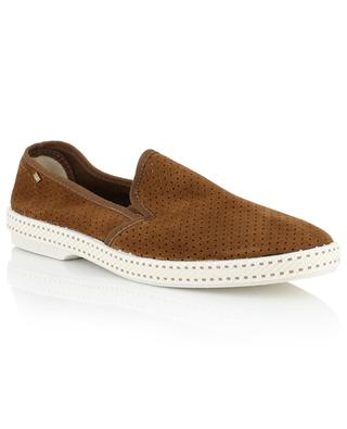 Sultan des plages 30° perforated suede loafers RIVIERA