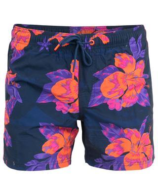 Short de bain imprimé hibiscus SUNDEK