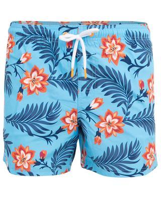 Short de bain fleuri esprit Hawaï SUNDEK