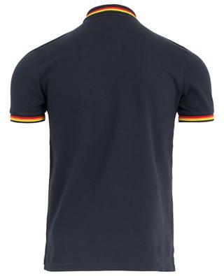 Stretch-Polohemd mit Streifendetails SUNDEK