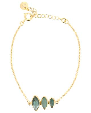 Goldenes Armband mit drei Turmalinen LOUISE HENDRICKS