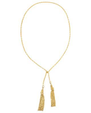 Goldene Halskette Pompon Dots SYLVIA TOLEDANO