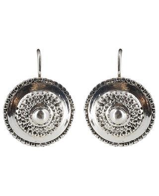 Metal medal earrings UNE LIGNE