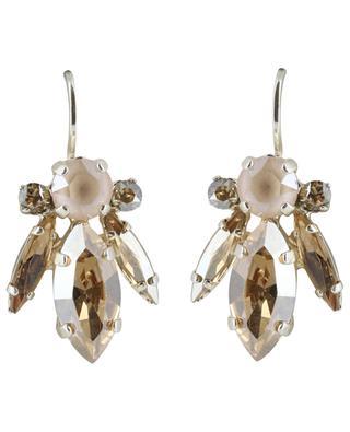 Boucles d'oreilles serties de cristaux Cassandre UNE LIGNE