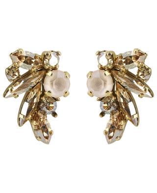 Cassandre sparkling stud earrings UNE LIGNE