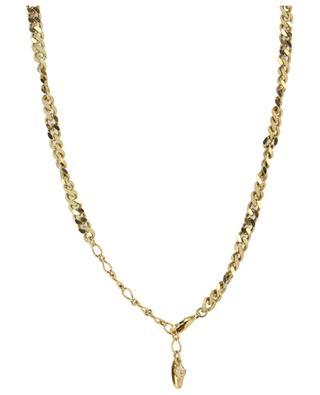 Kristallbesetzte Halskette Noir & Blanc UNE LIGNE