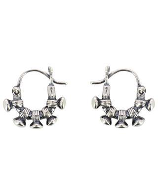 Aura Poku nail design hoop earrings DASQUE