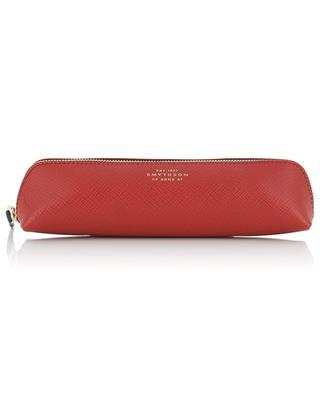 Panama saffiano leather pencil case SMYTHSON