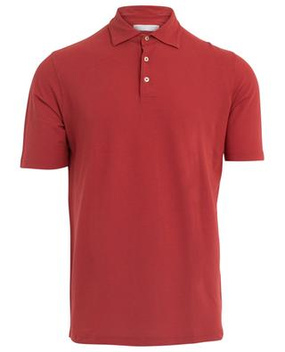 Cotton polo shirt FILIPPO DE LAURENTIIS