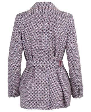 Romantic Tiles printed silk jacket FENDI