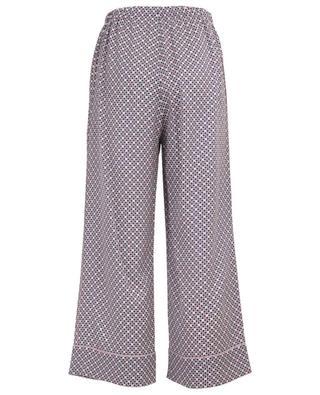 Pantalon large fluide Romantic Tiles FENDI