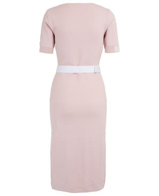 Robe fourreau sport-chic St. Barth détail FF FENDI