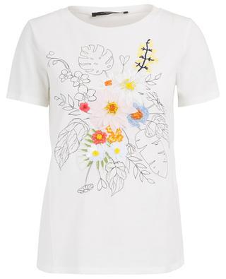 Vals floral embroidered T-shirt WEEKEND MAXMARA