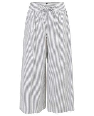 Pantalon large en coton rayé Nigra WEEKEND MAXMARA