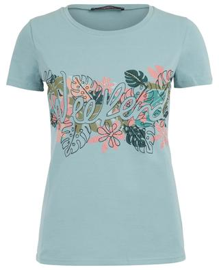 Slogan-T-Shirt mit Stickereien Angio WEEKEND MAXMARA