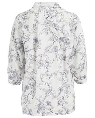 Bluse aus Leinen mit Blumenstickereien Jedy MAXMARA STUDIO