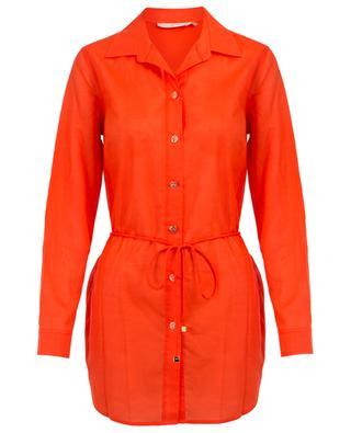 Brigitte Beach cotton tunic TORY BURCH