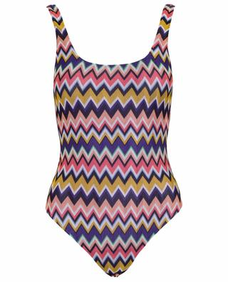 Crochet-knit one piece swimsuit MISSONI MARE