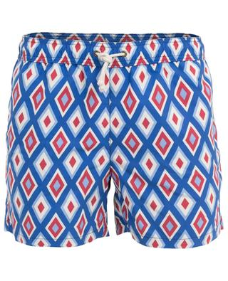 Camogli Blu diamond print swim shorts RIPA RIPA