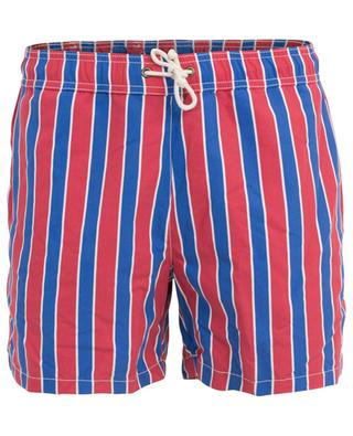 Monoterosso Rosso/Blu striped swim shorts RIPA RIPA