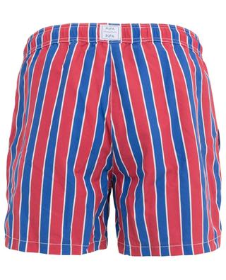 Monoterosso Rosso/Blu striped swim shorts RIPA RIPA