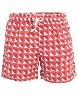 Vele Corallo geometric pattern swim shorts RIPA RIPA