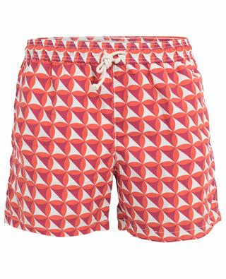 Vele Corallo geometric pattern swim shorts RIPA RIPA