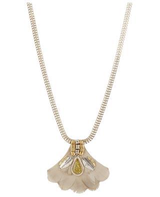 Collier avec pendentif en plumes Alizia SATELLITE ... 354006efb9ed