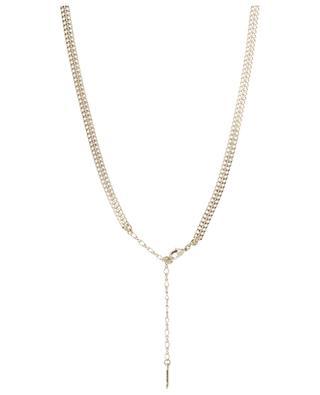Alizia feather embellished necklace SATELLITE