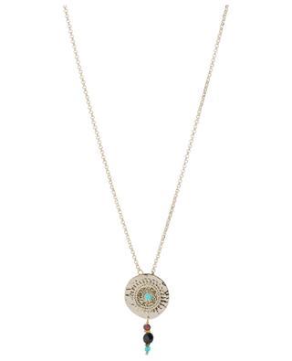 Halskette mit rundem Anhänger Dakota SATELLITE